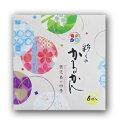 鹿児島銘菓!彩りのかるかん(6個入)【鹿児島土産】【ギフト】 その1
