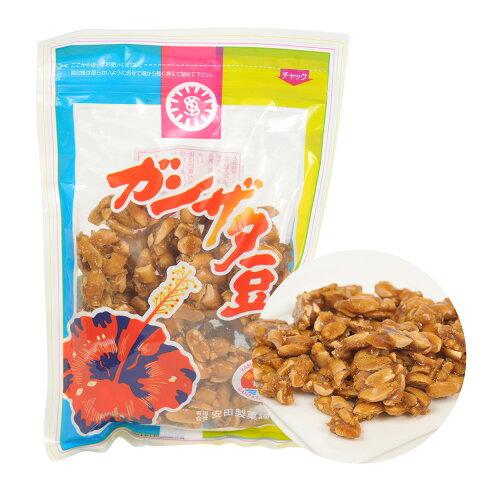 黒砂糖 お菓子 ガンザタ豆 安田製菓 180g×10袋 がんざた豆 黒糖ピーナッツ 落花生 奄美大島