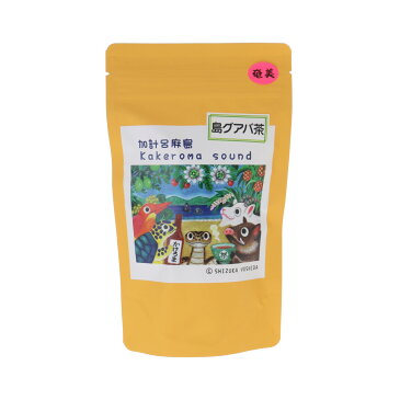 奄美大島 グアバ茶20g 2g×10 太陽の島カフェしりたむんきゃ グァバ ぐあば お茶 健康お茶 奄美特産 ばんしろう茶