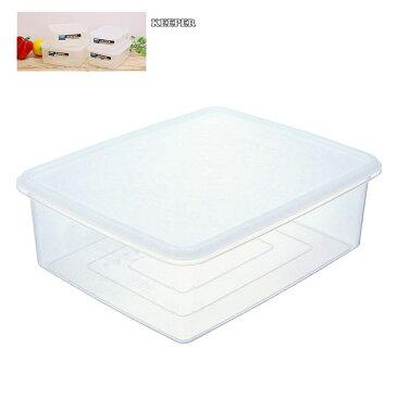 ナチュラルキーパー ジャンボキーパー LL B-388 N 保存ボックス キーパー タッパー 保存 ふた付 冷蔵庫 密封 キッチン 料理 調理 透明 中身が見える 大容量 保冷ボックス 収納