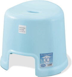 リス 風呂椅子 H&H ブルー 高さ 30cm『防カビ加工』