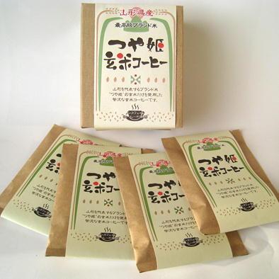オーガライフ『つや姫玄米コーヒー』