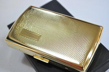 【TSUBOTA メタル コインケース ゴールドエンジンタン】人気 おしゃれな 小銭入れ 上品 ブランド ZIPPO メタル 革財布 金属 ヴィーナス