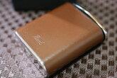 【PEARL】携帯灰皿ヴィーナスゴールド人気ブランドたばこケースゴールド金メタルおしゃれ上品ジッポ
