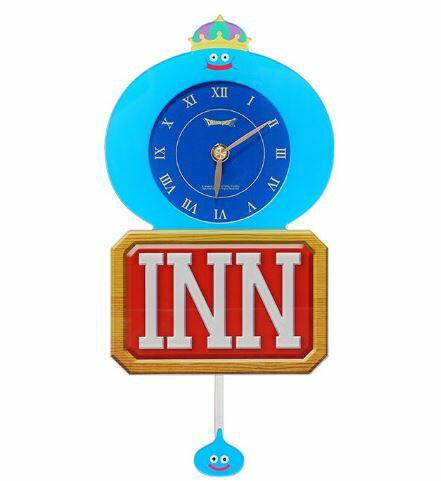 ドラゴンクエストキングスライム宿屋壁掛け時計