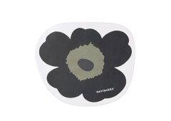 雑貨通販 (マリメッコ など)マリメッコ UNIKKO マウスパッド 黒 新品