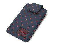 ヘッドポーターiPhone4ケースステラ紺×赤新品
