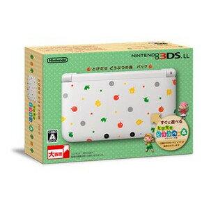 ニンテンドー 3DS ゲーム系 雑貨通販 ニンテンドー3DS LL とびだせ どうぶつの森 パック ...