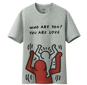 ユニクロ 雑貨 通販UT キースヘリング 背負う人 Tシャツ L