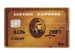 面白雑貨 雑貨 通販オモシロUSB クレカ型メモリー 8GB ゴールドカード