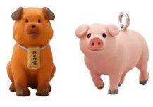 銀の匙 エゾノー・グラフィティ  豚丼&福ぶちょーストラップ