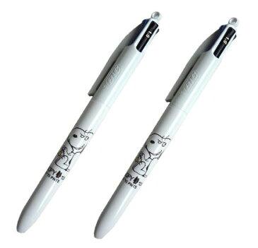 スヌーピー 限定いたずらスヌーピー BIGボールペン 2個セット