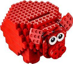 LEGO 雑貨 通販LEGO 豚の貯金箱