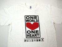 ハリウッドランチマーケットOneWorldTシャツM