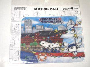 スヌーピー マウスパッド 船上