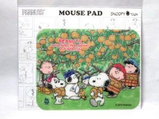 スヌーピー マウスパッド 収穫