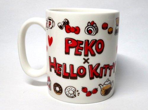 ZAK ペコちゃん × キティ マグカップ
