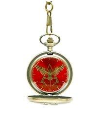 ガンダム 40周年記念 懐中時計 ネオジオン紋章