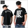 【★あす楽対応★】RICHEND/リッチエンドTシャツ【RELOGO】ブラック×ホワイト