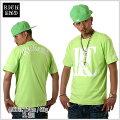 【★あす楽対応★】RICHEND/リッチエンドTシャツ【RELOGO】ライムグリーン×ホワイト