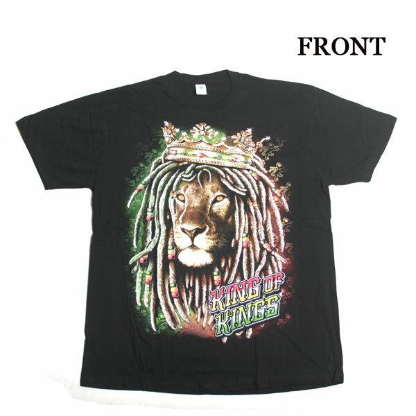 トップス, Tシャツ・カットソー BLACK PRINT TKING LION x411 BITTER HIPHOP B B BOY DANCE