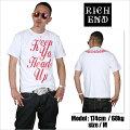 RICHEND/リッチエンドTシャツ【HEADSUP/ヘッズアップ】ホワイト×レッド