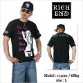 RICHEND/リッチエンドTシャツ【BABYGIRL】ブラック×ピンク