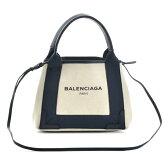 【送料無料】バレンシアガ BALENCIAGA NAVY CABAS XS 2WAYハンドバッグ 390346 AQ38N 4081