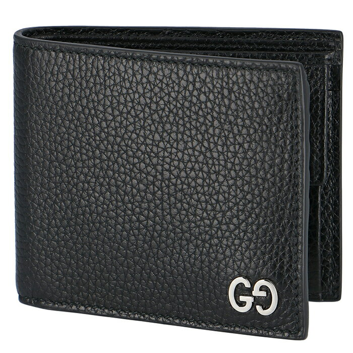 be5d79a6851e グッチ 財布 メンズ 二つ折り dorian 折 小銭入れ有り メンズ 二つ折り財布 BLACK