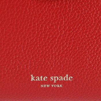 ケイトスペードKATESPADE2019年秋冬新作財布二つ折りミニ財布ミディアムバイフォールドウォレットマルゴーMARGAUXレッド系PWRU74190018611