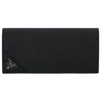 【送料無料】プラダPRADA型押しカーフスキンメンズ二つ折り長財布2MV836QME002