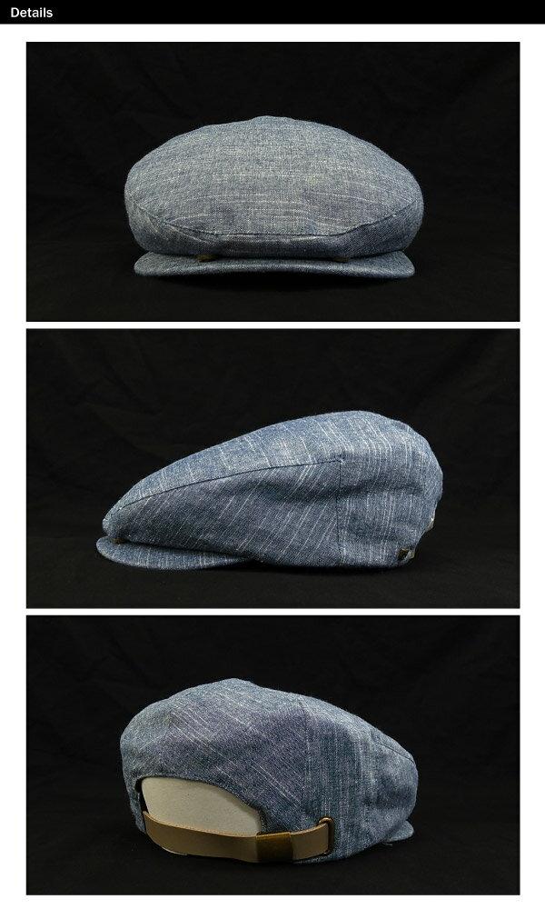 ブリクストンセススナップキャップネイビー(BrixtonSETHCUTANDSEWSNAPCAPハンチング帽)