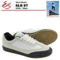 エスSLB97ホワイト/ブラックスケートスケータースニーカー(esSLBMID)