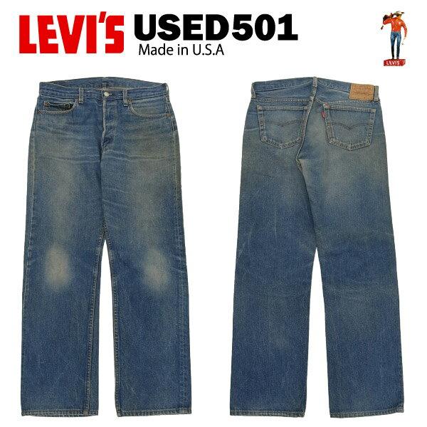 メンズファッション, ズボン・パンツ USED Levis 501 W35L34 (W82cmL76cm) MADE IN USA 00501 USED
