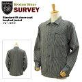 [���ͽ��]�֥ꥯ���ȥ�����������������ɥե��åȥ��祢�����ȥ֥롼/�ۥ磻��(BrixtonSurveystandard-fitchore-coatinspiredjacket���С�������)[9���������]
