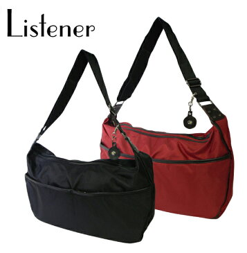 リスナーブラック ネプチューン ショルダーバッグ (Listener Black NEPTUNE SHOULDER BAG) 【あす楽対応】【楽ギフ_包装】【あす楽_土曜営業】