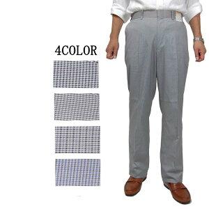 スラックス パンツ コットン ストレッチ メンズ 紳士 ウォッシャブル 春夏用 パンツ 洗濯 洗える ノータック パンツ ビジネスパンツ76・79・82・85・88・91・94・97・100cm 3411 スリム 大きいサイズ