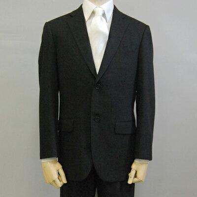 11520-1オールシーズン 男性 メンズ 冠婚葬祭 略シングル 礼服 ブラックフォーマル 上下セットYA体...