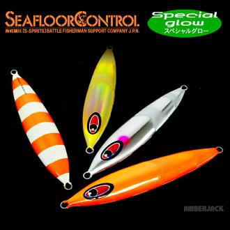 """Cranky 290 g special glow seafloor control """"SEAFLOOR CONTROL."""" Amber jacks color note slogging lb"""
