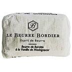 【5月1日月曜〆切→5月11日木曜発送】フランスブルターニュ産 ボルディエ フレッシュバター バニラ 125g