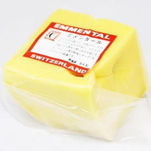 【チーズフォンデュするならこれ!】スイス産 エメンタール ブロック 約500g(不定貫4200円[...