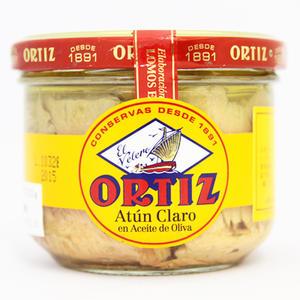 【パスタやサラダにはこれ!】オルティス社 キハダマグロのオリーブオイル漬け 220g
