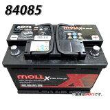送料無料 830-85 モル MOLL 83085 自動車 用 バッテリー 2年保証 車
