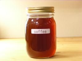 微かな酸味が特徴メープルシロップのようなコーヒーはちみつ500g入り蜂蜜ハチミツはちみつ瓶詰ハニー
