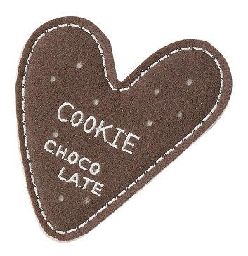 ハート型クッキーコースター:チョコ引き出物イベント粗品景品引き出物・結婚2次会等プチギフトクリスマスバレンタインホワイトデー02P01Feb14