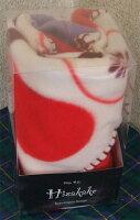 フルーツ柄ひざ掛けパッケージ画像レッド