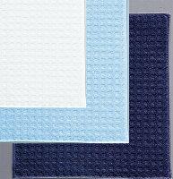 ブルー、ホワイト、ダークブルー3色セット