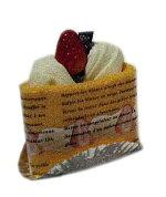 タオルケーキ:オレンジ香り付ショートケーキ