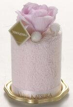 桂由美:ストロベリー香り付きタオルケーキ
