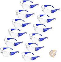 感染予防ゴーグル感染予防メガネJORESTECH保護メガネ眼鏡耐衝撃12個入花粉ほこり